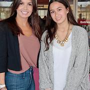 NLD/Amsterdam/20110401 - The Fashion Lisst Vip Night in de Rai, Rosanna Kluivert-Lima met dochter Demi Wilkes