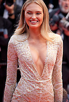 Romee Strijd at the Opening Ceremony and The Dead Don't Die gala screening at the 72nd Cannes Film Festival Tuesday 14th May 2019, Cannes, France. Photo credit: Doreen Kennedy