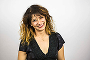 Shappi Khorsandi. The Peoples Assembly  presents: Stand Up Against Austerity. Live at the Hammersmith Apollo. London.