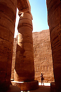 EGYPT, THEBES, KARNAK TEMPLE Temple of Amun, Great Hypostyle Hall