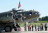 World War II planes at Orange County Airport