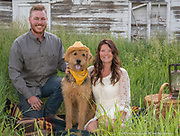 Portrait Photography with Pet Steamboat Springs Colorado