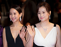 Cho Yeo-Jeong and Chang Hyae-Jin at the Parasite gala screening at the 72nd Cannes Film Festival Tuesday 21st May 2019, Cannes, France. Photo credit: Doreen Kennedy