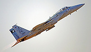 Israeli Air force (IAF) F-15 (Baz) Fighter jet in flight