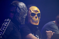 July 1, 2018 - Burgos, Spain - Djs Grotesque Club performs during concert in Burgos, Spain onJuly 01, 2018. (Credit Image: © Coolmedia/NurPhoto via ZUMA Press)