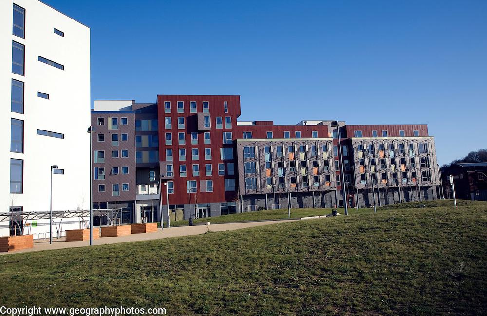 Athena Hall new student accommodation, Ipswich, Suffolk, England