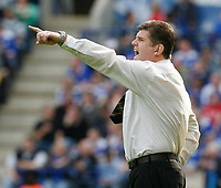 Photo: Steve Bond/Richard Lane Photography. <br /> Leicester City v Sheffield Wednesday. Coca-Cola Championship. 26/04/2008. Brian Laws on the touchline