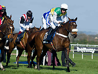 Grand National Meeting - Ladies' Day<br /> e.g. of caption:<br /> National Hunt Horse Racing - 2017 Randox Grand National Festival - Friday, Day Two [Ladies' Day]<br /> <br />   <br /> in the 6th race 16.40 Doom Bar Sefton Novices' Hurdle (Grade 1) (Class 1) 3m 149y, Good 11 Runners.at Aintree Racecourse.<br /> <br /> COLORSPORT/WINSTON BYNORTH