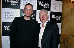 Left to right, Fashion designer GILES DEACON and KEITH MABBETT of Westfield at a party hosted by Westfield and the British Fashion Council to celebrate Fashion Forward held at Home House, 20 Portman Square, London W1 on 30th January 2007.<br /><br />NON EXCLUSIVE - WORLD RIGHTS