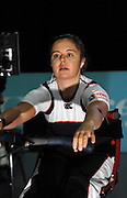 Birmingham, GREAT BRITAIN,  Adaptive classes, Helene RAYNSFORD, competing at the British Indoor Rowing Championships, [BIRC]. [Ergo Championships] National Indoor Arena. West Midlands 18/11/2007 [Mandatory Credit Peter Spurrier/Intersport Image.....