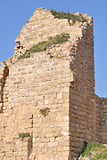 Israel, Caesarea, a town built by Herod the Great about 25 - 13 BC,