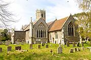 Village parish church of Saint Mary, Rickinghall Inferior, Suffolk, England, UK
