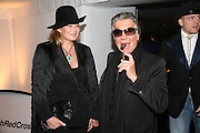 Eva and Robert Cavalli. The Red Cross London Ball, The Room by the River: 99 Upper Ground, Waterloo, London, SE1. 21 November 2007. -DO NOT ARCHIVE-© Copyright Photograph by Dafydd Jones. 248 Clapham Rd. London SW9 0PZ. Tel 0207 820 0771. www.dafjones.com.