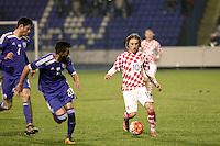 Osijek,23.03.2015. The stadium Municipal Garden played a friendly football match, Croatia - Israel. On picture Luka Modric<br /> Foto Mario CUZIC/Zagreb news agency