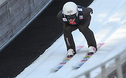 March 22, 2019 - Planica, Slovenia - Kamil Stoch of Poland seen in action during the trial round of the FIS Ski Jumping World Cup Flying Hill Individual competition in Planica. (Credit Image: © Milos Vujinovic/SOPA Images via ZUMA Wire)