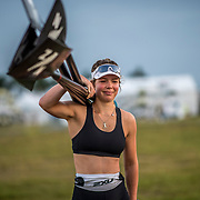 Charlotte Spence New Zealand Womens Coxless Four<br /> <br /> Training at the World Championships, Sarasota, Florida, USA Monday 25 September 2017. Copyright photo © Steve McArthur / Rowing NZ