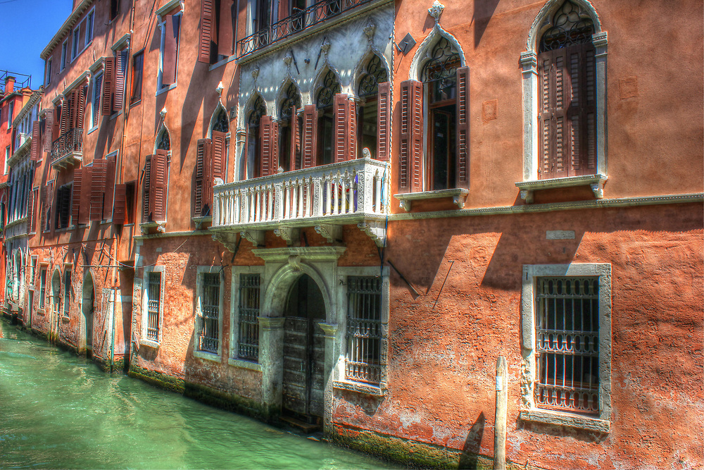 A room with a view. Venice, Veneto, Italy