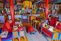 Mongolie, province de Bayankhongor, monastre de Mandal // Mongolia, Bayankhongor province, Mandal monastery