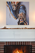 Harraseeket Inn-LL Bean Maine Hunting Shoe print