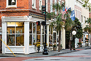 Preservation Society of Charleston shop along King Street in historic Charleston, SC.