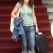NLD/Amsterdam/20050716 - U2 vertrekt bij het Amstel Hotel Amsterdam voor het laatste concert in Nederland van de Vertigo Tour 2005