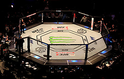 A general view of the Octagon at The O2 Arena, London