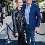 NLD/Amsterdam/20160830 - Nieuw TAG Hauer horloge, Liza Sips en partner Ralph Mannheim