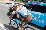 Mikael Cherel (FRA - AG2R - La Mondiale), during the UCI World Tour, Tour of Spain (Vuelta) 2018, Stage 9, Talavera de la Reina - La Covatilla 200,8 km in Spain, on September 3rd, 2018 - Photo Luis Angel Gomez / BettiniPhoto / ProSportsImages / DPPI
