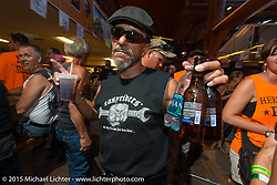 One Eyed Jacks Saloon on Main Street in Sturgis during the 75th Annual Sturgis Black Hills Motorcycle Rally.  SD, USA.  August 3, 2015.  Photography ©2015 Michael Lichter.