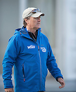 Amsterdam. NETHERLANDS. GER M8+ Coach,<br /> Ralf HOLTMEYER. 2014 FISA  World Rowing. Championships.  De Bosbaan Rowing Course . 07:32:39  Thursday  21/08/2014  [Mandatory Credit; Peter Spurrier/Intersport-images]