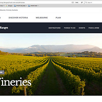 Yarra Valley wineries for Visit Victoria
