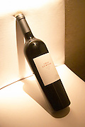 A bottle of Gran Lurton Cabernet Sauvignon Bodega Jacques and Francois Lurton Mendoza Valle de Uco The Dolly Irigoyen - famous chef and TV presenter - private restaurant, Buenos Aires Argentina, South America Espacio Dolli