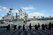 The USS Baton at The 2008 Veterans Day  Ceremonies at the Intrepid Sea, Air, & Space Musem on November 11, 2008 in NYC