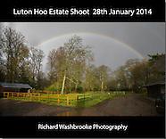 Luton Hoo Estate Shoot  28th January 2014