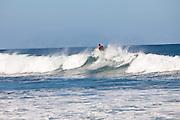 Surfers at Las Marias beach in Rincon Puerto Rico