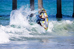 Tanner Gudauskas (HAW) advances to Round 4 of the VANS US Open of Surfing after placing second in Heat 4 of Round 3 at Huntington Beach, CA, USA.