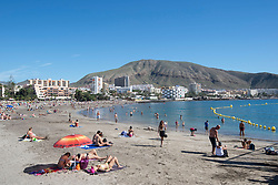 File photo dated 19/12/15 of Playa de los Cristianos in Tenerife, Spain. Inflation hit its highest level in nearly four years in May, as the rising cost of foreign holidays and computer games drove up the cost of living.