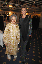 Left to right, BARONESS FLATHER and PRINCESS KATARINA OF YUGOSLAVIA at the Eastern Eye Asian Business Awards 2007 in the presence of HRH The Duke of York at the Hilton Park Lane, London on 8th May 2007.<br />