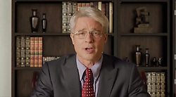 Grab video - Brad Pitt participated, this Saturday, April 25, 2020, in a 'confined' edition of the Saturday Night Live show. Pitt slipped into the shoes of Anthony Fauci, the epidemiologist advising the White House during the coronavirus crisis. A fine opportunity for Brad Pitt to make fun of Donald Trump's fake news during his press briefings. Trump has created controversy this week by suggesting the possibility of treating Covid-19 by injecting disinfectant into the body. Photo by ABACAPRESS.COM