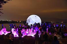 China - Man Made Moon - 20 Sep 2016
