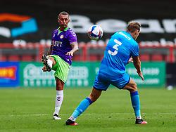 Jack Hunt of Bristol City in action - Rogan/JMP - 21/08/2020 - Ashton Gate Stadium - Bristol, England - Bristol City v Cheltenham Town - Pre Season Friendly.