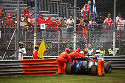 Renntag beim GP von Italien 2016 in Monza<br /> <br /> / 040916<br /> <br /> ***Pascal Wehrlein (GER) Manor Racing MRT05 retired from the race.<br /> 04.09.2016. Formula 1 World Championship, Rd 14, Italian Grand Prix, Monza, Italy, Race Day.<br />  ***