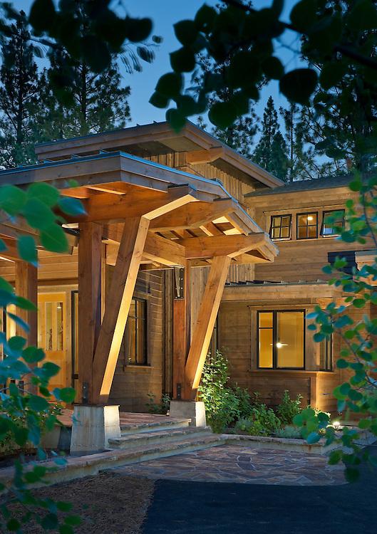 Martis Camp Residence.Nicholas Sonder Architect