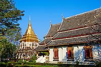 Thailande, Chiang Mai, Wat Chiang Mien // Thailand, Chiang Mai, Wat Chiang Mien