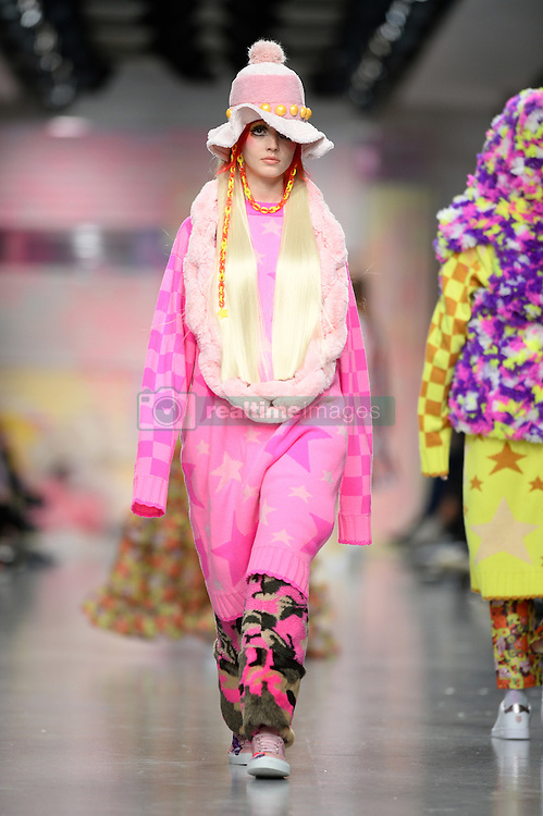 Models on the catwalk during the Ryan Lo Autumn/Winter 2017 London Fashion Week show at the BFC venue at 180 Strand, London. Picture date: Saturday February 18th, 2017. Photo credit should read: Matt Crossick/ EMPICS Entertainment.