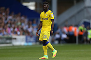 Ronaldo Vieira of Leeds United looks on. Skybet EFL championship match, Queens Park Rangers v Leeds United at Loftus Road Stadium in London on Sunday 7th August 2016.<br /> pic by John Patrick Fletcher, Andrew Orchard sports photography.