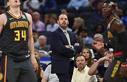 December 6, 2017 - Orlando, FL, USA - Orlando Magic Head Coach Frank Vogel -- <br />The Orlando Magic hots the Atlanta Hawks at Amway Center, on Wednesday, December 6, 2017.<br />With 8:00 left on the second quarter, the Magic were ahead, 35-29. (Credit Image: © Ricardo Ramirez Buxeda/TNS via ZUMA Wire)