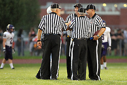 31 August 2012: Bloomington High School Purple Raiders v Normal Community Ironmen Football in Normal Illinois