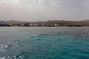 Deserted beaches at the Blue Lagoon (Dahab), Sinai, Egypt