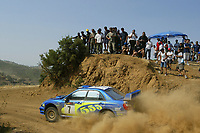 AUTO - WRC 2003 - CYPRUS RALLY -  20030622 -  7 - PETTER SOLBERG - PHILL MILLS / SUBARU IMPREZA WRC - ACTION<br />